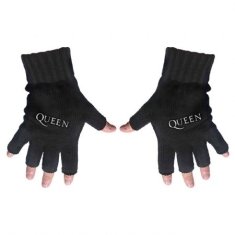 Queen - Fingerless Gloves: Logo