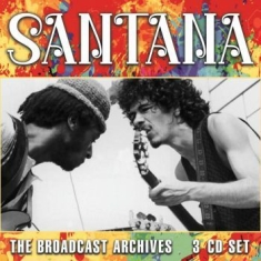 Santana - Broadcast Archives (3 Cd) Live Broa