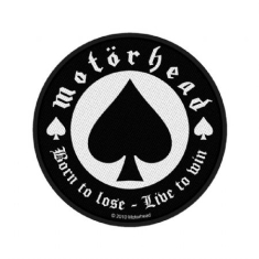 Motorhead - Standard Patch: Born to Lose (Loose)