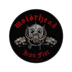 Motorhead - Standard Patch: Iron Fist/Skull (Loose)