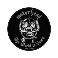 Motorhead - Standard Patch: The World Is Yours (Loose)
