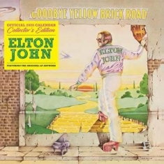 Elton John - Collectors Edition 2020 Calendar