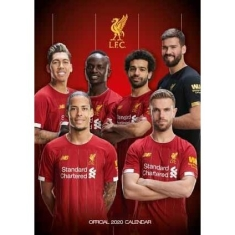 Liverpool - Official 2020 Calendar