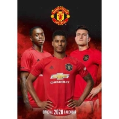 Manchester United - Official 2020 Calendar