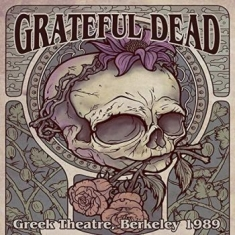 Grateful Dead - Greek Theatre. Berkeley. 1989 Box