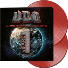 U.D.O. - We Are One (Clear Red 2 Lp Vinyl)