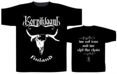 Korpiklaani - T/S We Eat Iron (M)