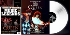 Queen - Greatest Hits In Concert (Lp + Mag)