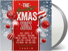 Various artists - The Greatest Xmas Songs (Silver & Clear Vinyl)
