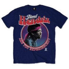 Jimi Hendrix - JIMI HENDRIX MEN'S TEE: ARE YOU EXPERIENCED?