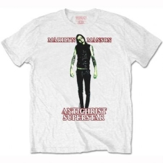 Marilyn Manson - MEN'S TEE: ANTICHRIST