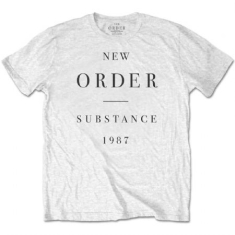 New Order - New Order Unisex Tee: Substance