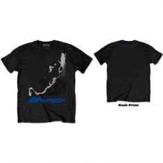 Post Malone - Post Malone Unisex Tee: HT Live Close-Up (Back Print)