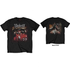 Slipknot - SLIPKNOT UNISEX TEE: DEBUT ALBUM 19 YEARS (BACK PRINT)