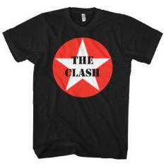 The Clash - The Clash Unisex Tee: Star Badge