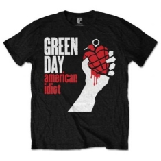 Green Day - Men's Tee: American Idiot