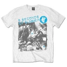 5 Seconds Of Summer - 5 SECONDS OF SUMMER MEN'S TEE: LIVE COLLAGE