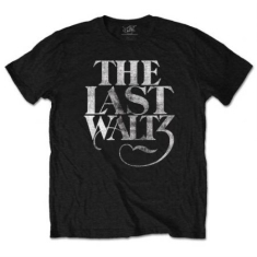The Band - T-Shirt - The Last Waltz (Men Black)