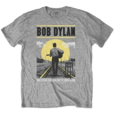 Bob Dylan - T-shirt - Slow Train (Men Grey)