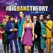 Big Bang Theory - Official 2020 calender - square