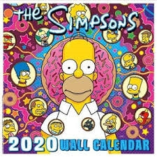 The Sipmsons - Official 2020 calender  - square