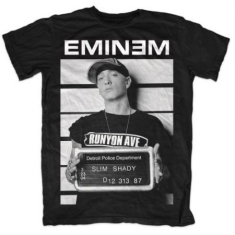 Eminem - T-shirt -  Arrest (Men Black)
