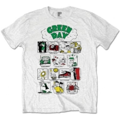Green Day - T-shirt - Dookie (Men White)