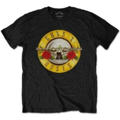Guns N' Roses - T-shirt - Classic Logo (Men Black)
