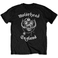 Motorhead - T-shirt - England (Men Black)