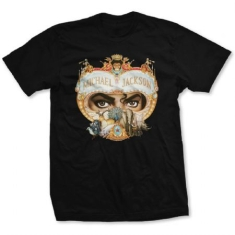 Michael Jackson - T-shirt - Dangerous (Men Black)