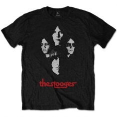 Iggy & The Stooges - T-shirt - Group Shot (Men Black)