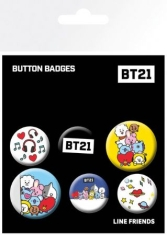 BT21 - BT21 MIX Badges