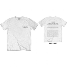 The 1975 - The 1975 Unisex Tee: ABIIOR Wecome Welcome (Back Print)