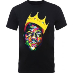 The Notorious B.I.G. - Biggie Smalls Unisex Tee: Crown (Small)
