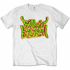 Billie Eilish - Billie Eilish L Unisex Tee: Graffiti