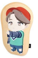BTS - CHARACTER SOFT CUSHION - Jimin