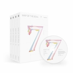 BTS - MAP OF THE SOUL : 7, 4 Ver. SET + Poster (4pcs)