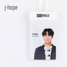 BTS - BTS World - Manager Card Set - J-hope
