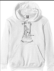 Billie Eilish - Unisex pullover Hoodie White - Party Favour