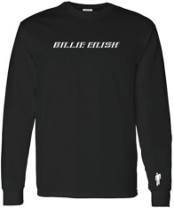 Billie Eilish - Billie Eilish Black Long Sleeve T-shirt