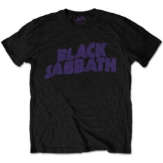 Black Sabbath - Black Sabbath Kid's Tee: Wavy Logo (Retail Pack)
