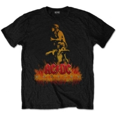 AC/DC - T-shirt - Bonfire Men Black