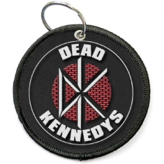 Dead Kennedys - Dead Kennedys Keychain: Circle Logo (Double Sided Patch)