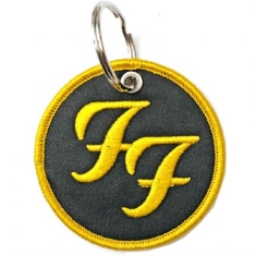 Foo Fighters - Foo Fighters Keychain: Circle Logo (Double Sided Patch)