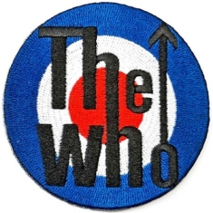 Who - The Who Standard Patch: Target Logo