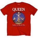 Queen - UNISEX TEE: ANOTHER ONE BITES THE DUST
