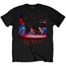 Queen - UNISEX TEE: LIVE SHOT SPOTLIGHT