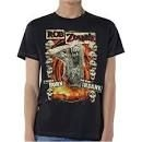 Rob Zombie - UNISEX TEE: BORN TO GO INSANE