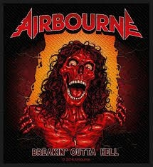 Airbourne - STANDARD PATCH: BREAKIN' OUTA HELL (LOOSE)