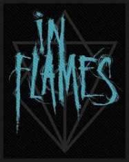 In Flames - STANDARD PATCH: SCRATCHED LOGO (RETAIL PACK)